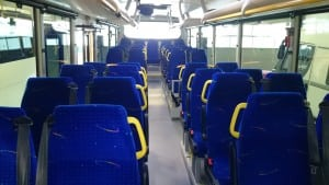 bussen innvendig
