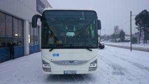 iveco buss parkert