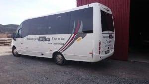 minibuss fra bramini