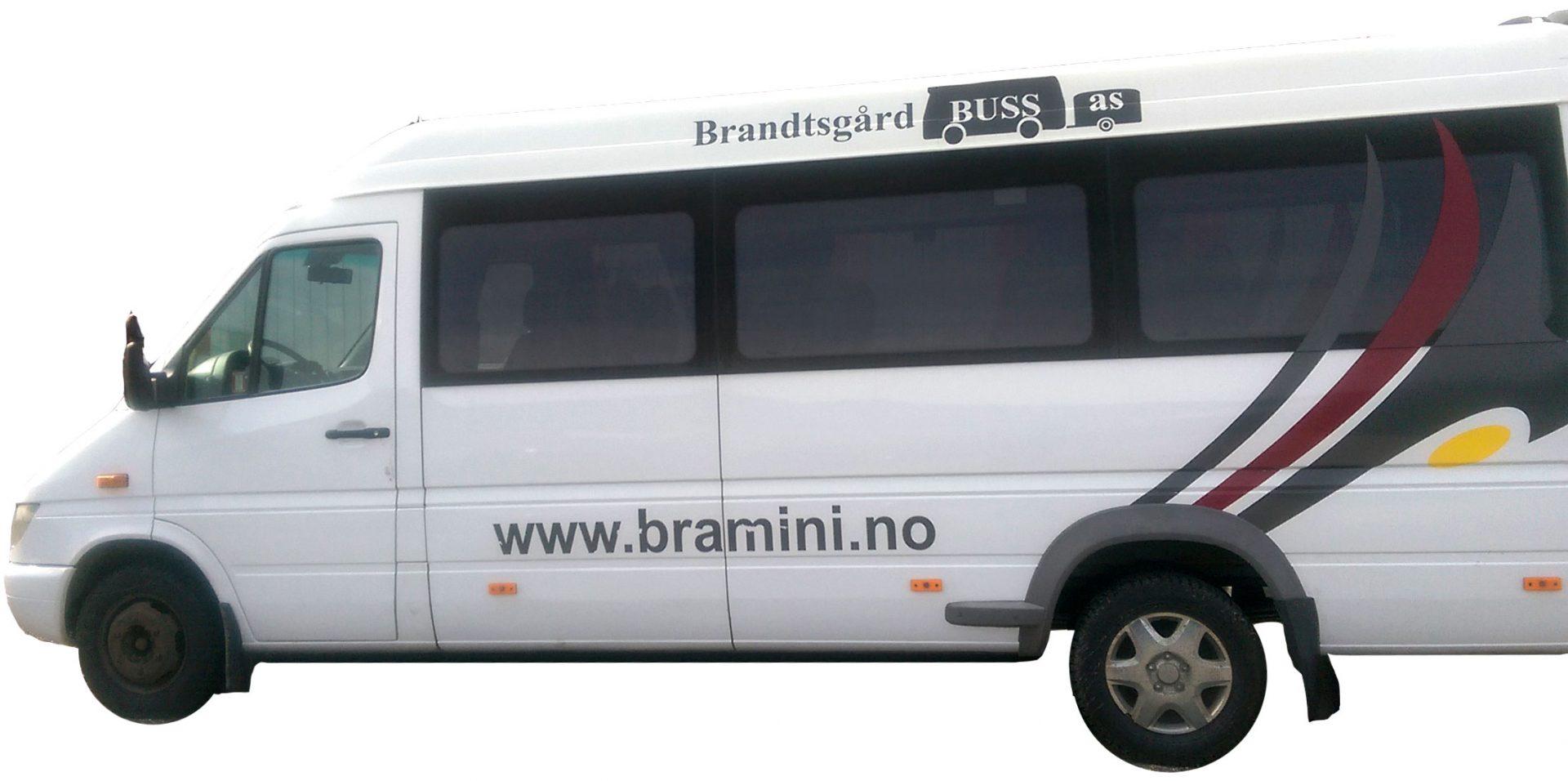 minbuss fra brandtsgård buss